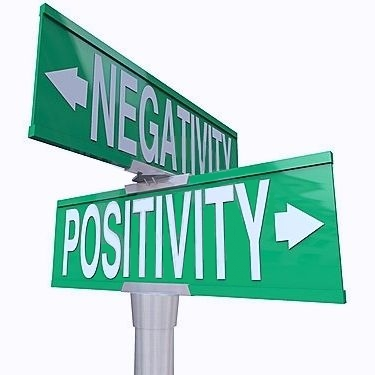Positive vs. Negative Energy